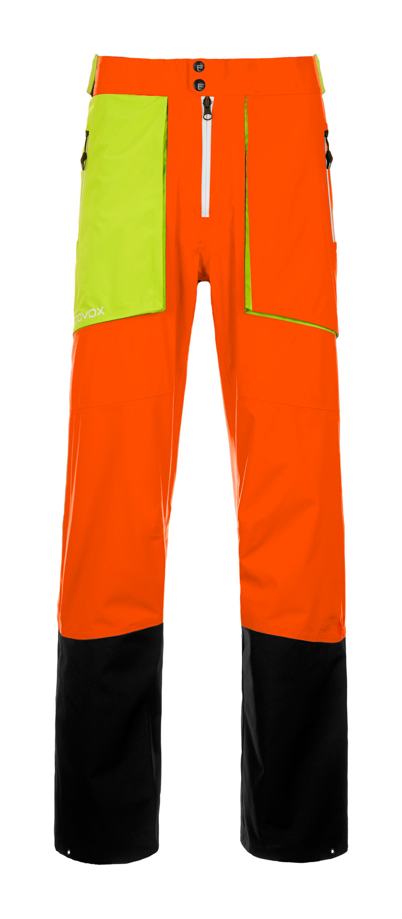 44afb5c0 Ortovox 3L [MI] Pants La Grave M Crazy Orange | Fjellsport.no